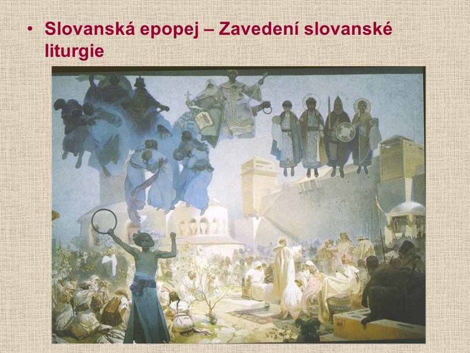 Slovanská epopej – Zavedení slovanské liturgie