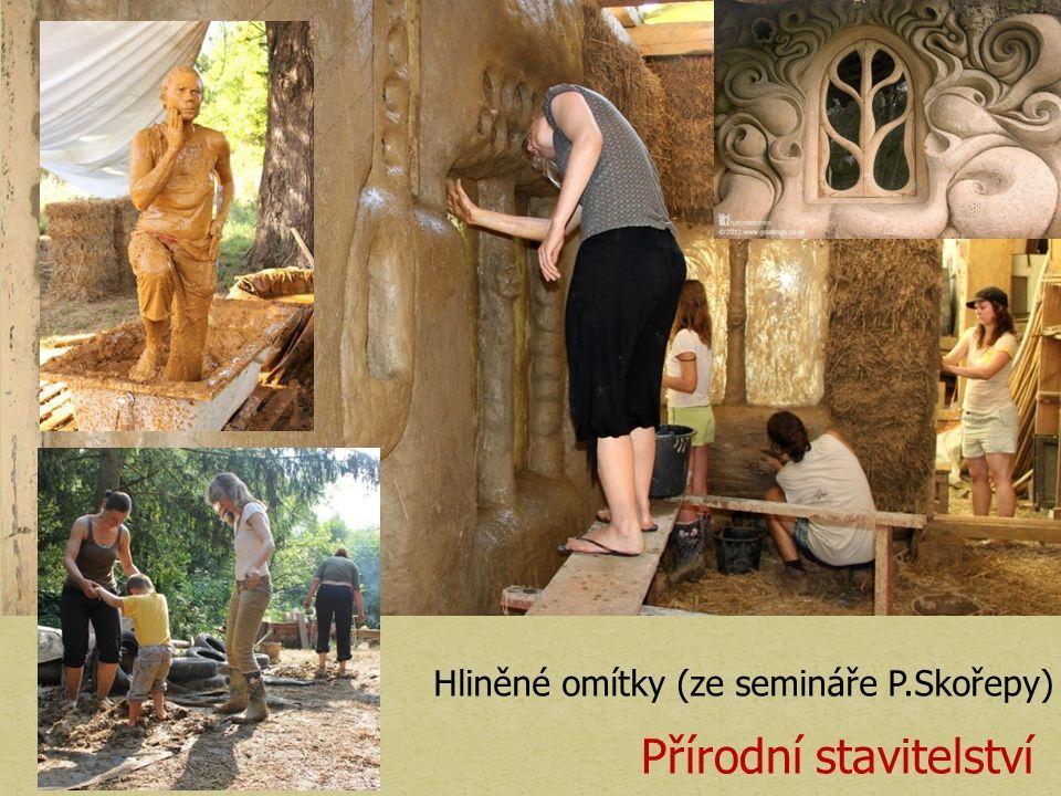 Hliněné omítky (ze semináře P.Skořepy) Přírodní stavitelství