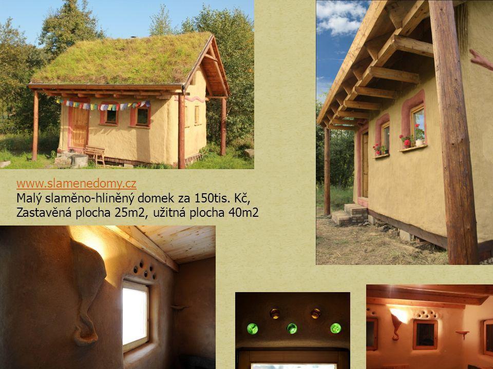 www.slamenedomy.cz Malý slaměno-hliněný domek za 150tis.