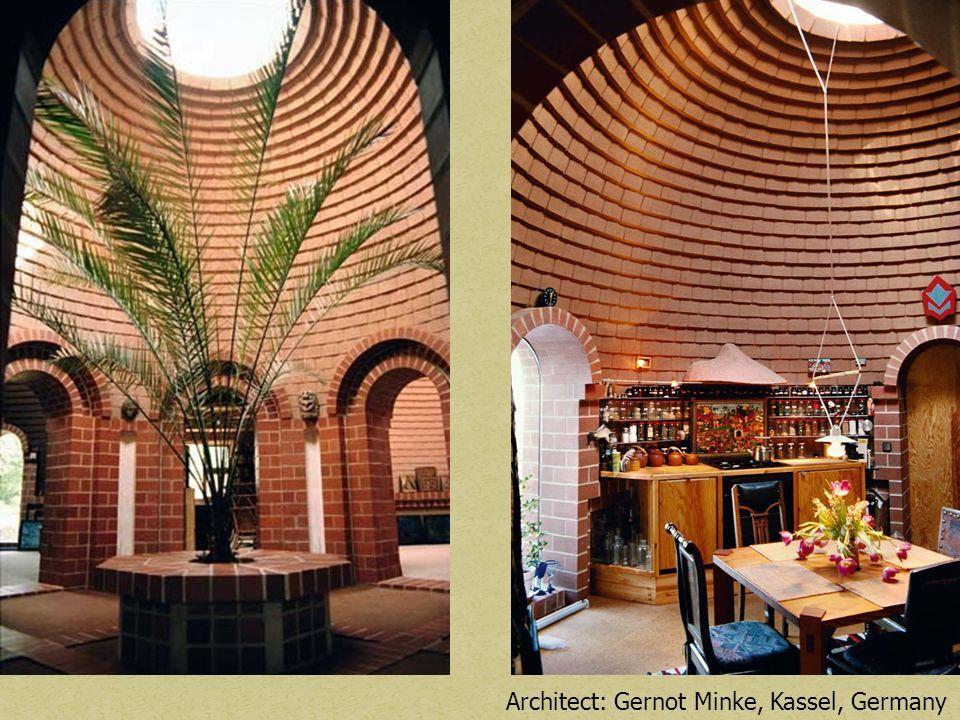 Architect: Gernot Minke, Kassel, Germany