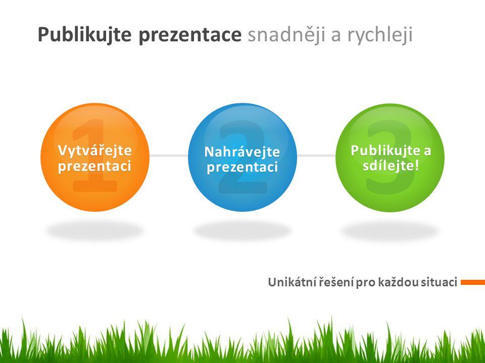 » Jednoduše nahrajte a zveřejněte prezentaci na stránce SlidePlayer.cz » Sdílejte odkaz na stránku s prezentací, nebo jednoduše přidejte přehrávač s prezentací na svůj slide či na stránku v sociální síti.