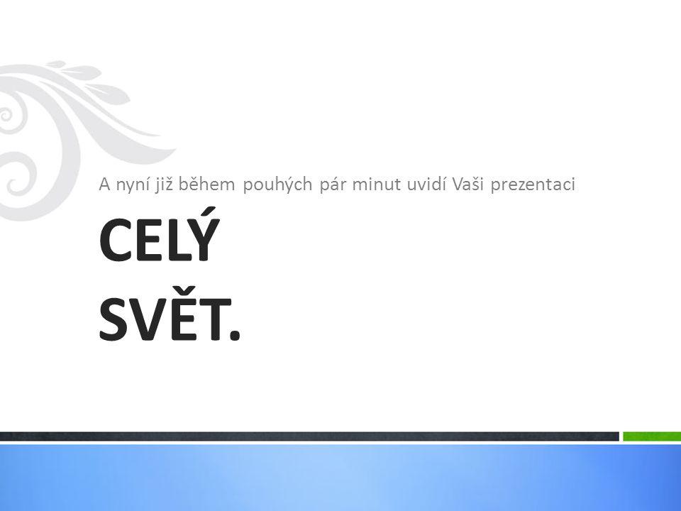 SlidePlayer.cz umožňuje přidávat do prezentace video a zvuk.