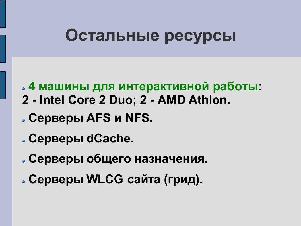 Организация работы пользователей Подробное описание – на сайте: http://lit.jinr.ru.