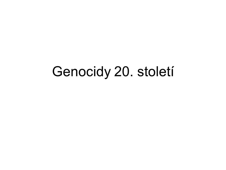 Genocidy 20. století