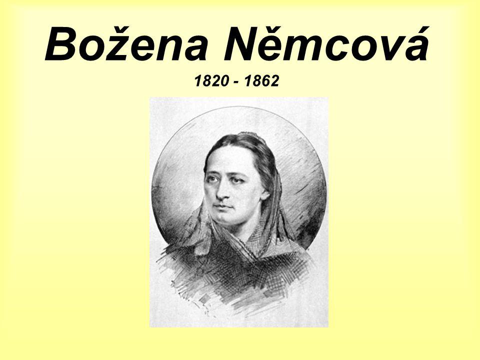 Božena Němcová 1820 - 1862