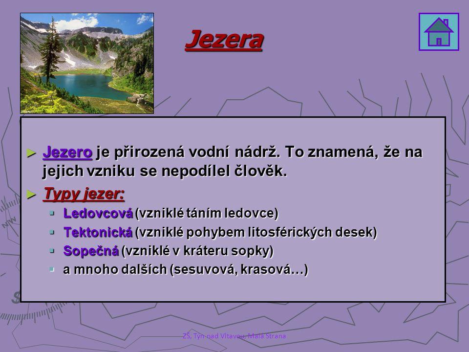 Typy jezer