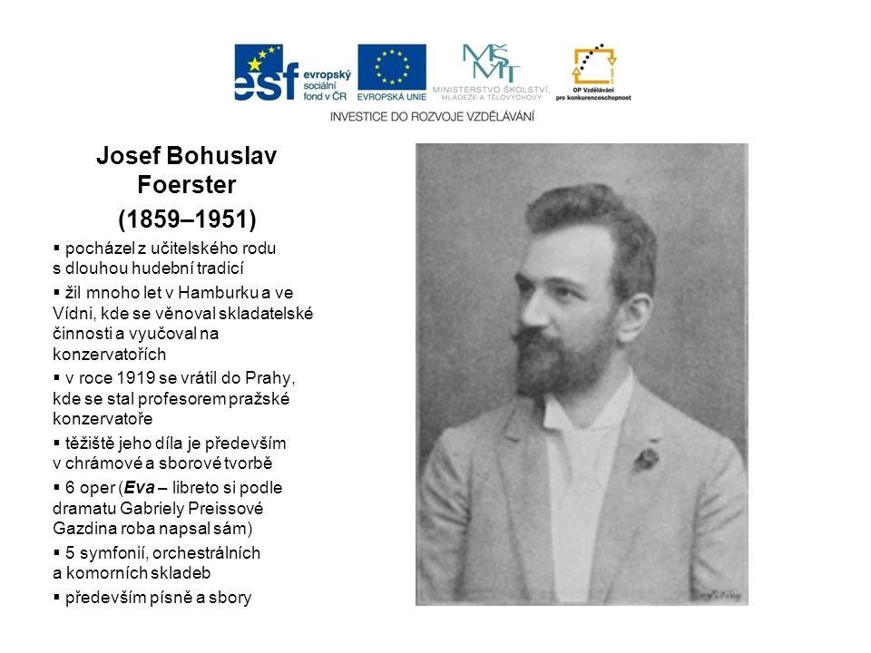 Vítězslav Novák (1870 – 1949)  studoval nejprve práva, pak přešel na pražskou konzervatoř, kde byl žákem A.