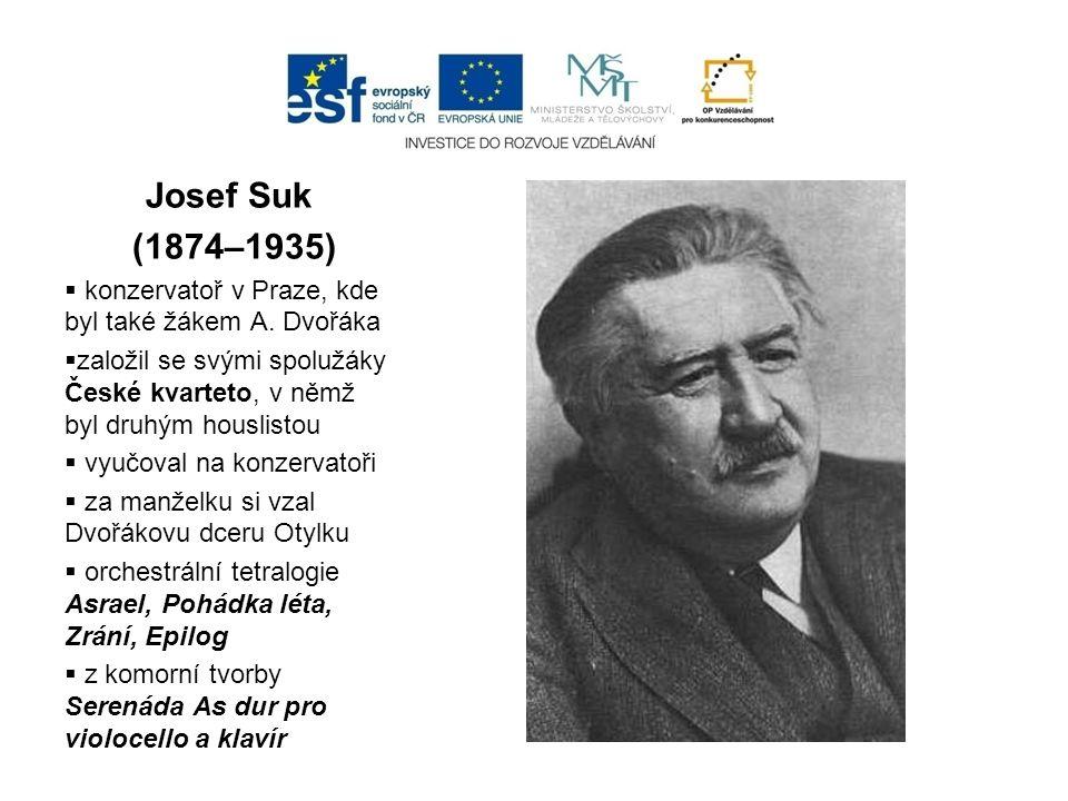 Leoš Janáček (1854 – 1928)