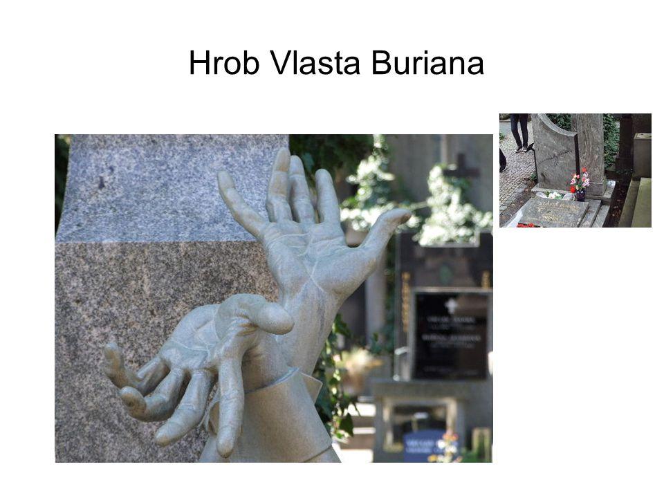 Hrob Vlasta Buriana