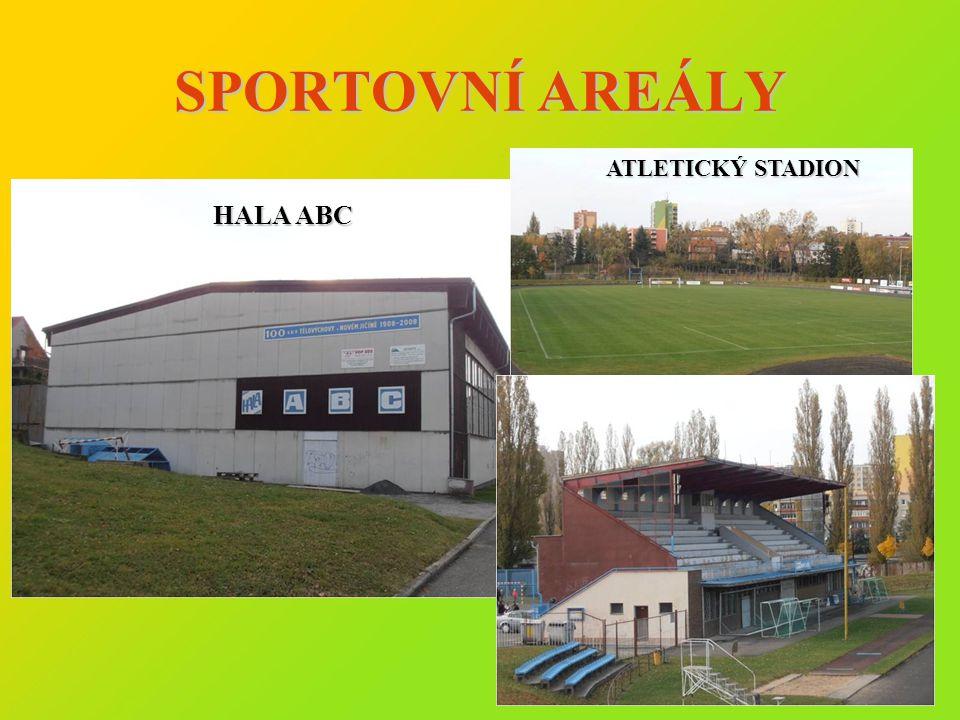 SPORTOVNÍ AREÁLY HALA ABC ATLETICKÝ STADION