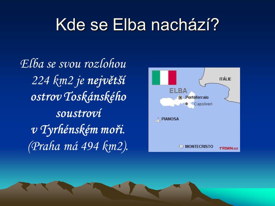 Kde se Elba nachází.
