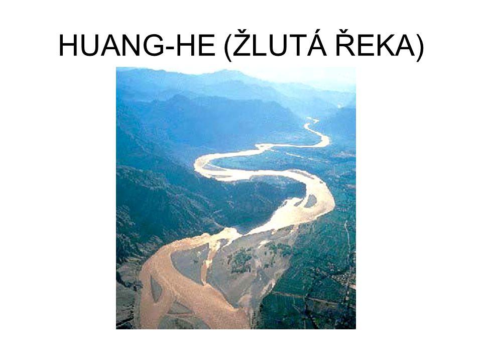 HUANG-HE (ŽLUTÁ ŘEKA)
