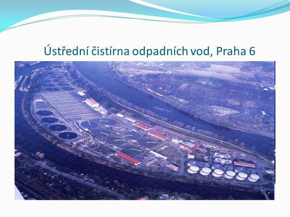Ústřední čistírna odpadních vod, Praha 6