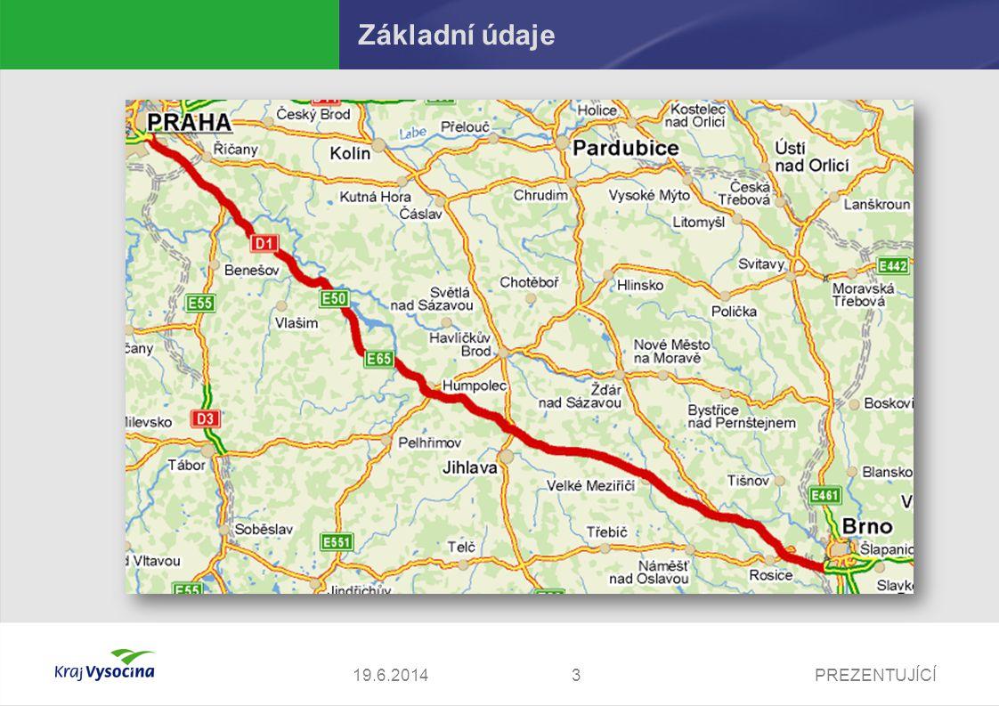 PREZENTUJÍCÍ419.6.2014 Základní údaje Hromadná automobilová havárie na dálnici D1  dálnice je během několika minut v obou směrech zcela neprůjezdná  během cca 10 min.