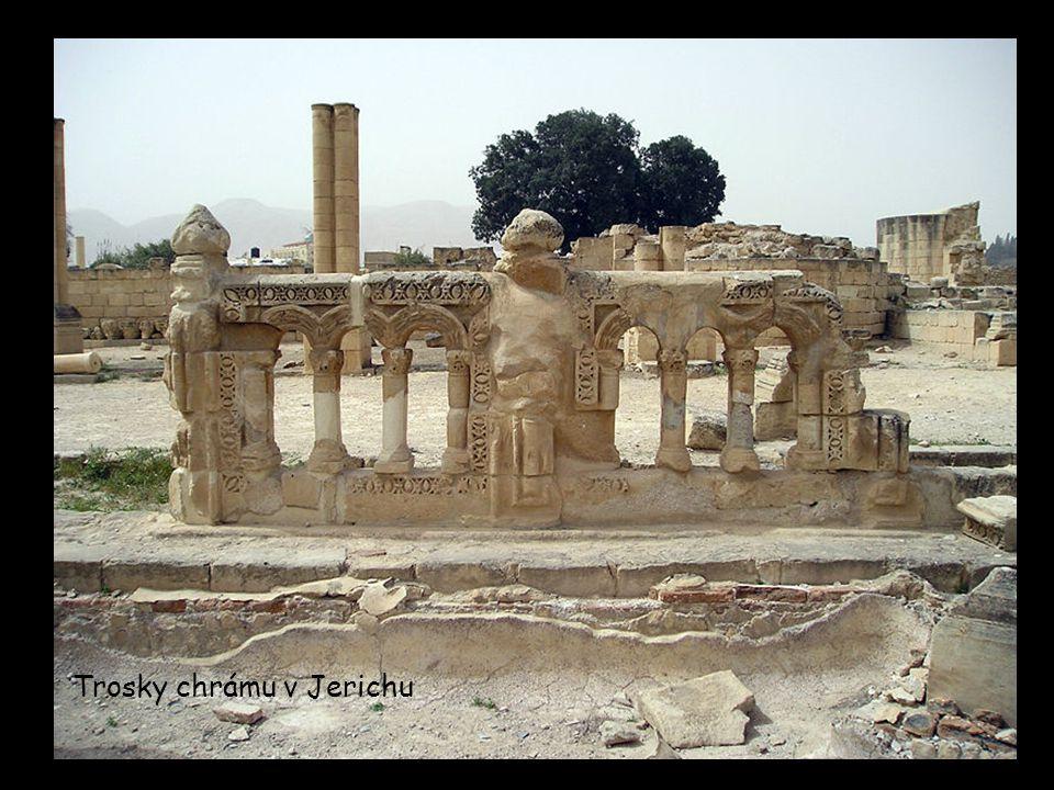 Trosky chrámu v Jerichu