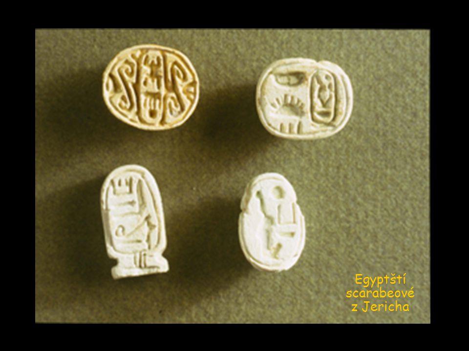 Egyptští scarabeové z Jericha