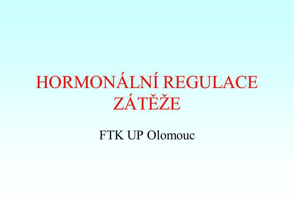 Změny plazmatického objemu a hladiny aldosteronu během 2-hodinové