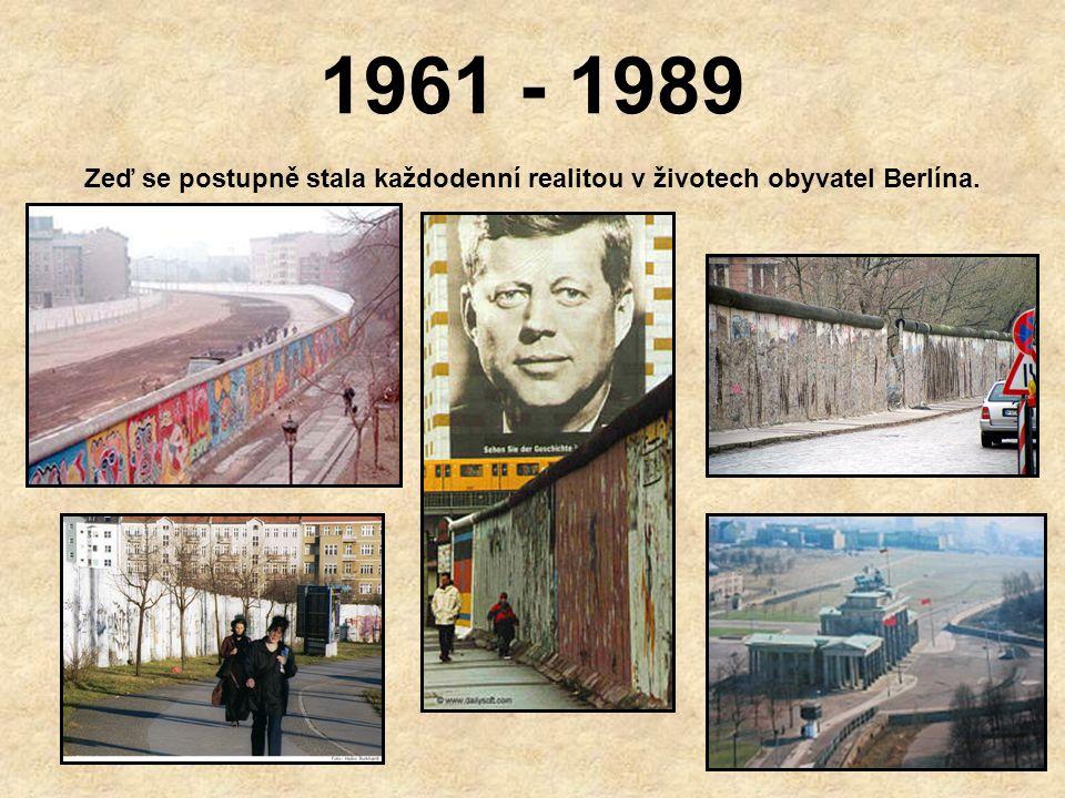 Památník obětem Berlínské zdi Během osmadvacetileté existence Berlínské zdi při pokusu o útěk zemřel dosud přesně nezjištěný počet občanů (Berlínská p