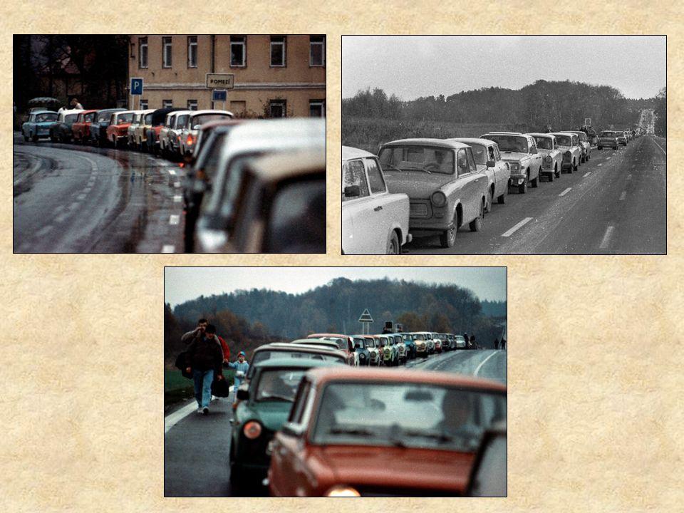 Podle tehdy přísně tajné zprávy ústřední koordinační skupiny ministerstva státní bezpečnosti NDR, vycestovalo anebo z NDR bez povolení opustilo republ