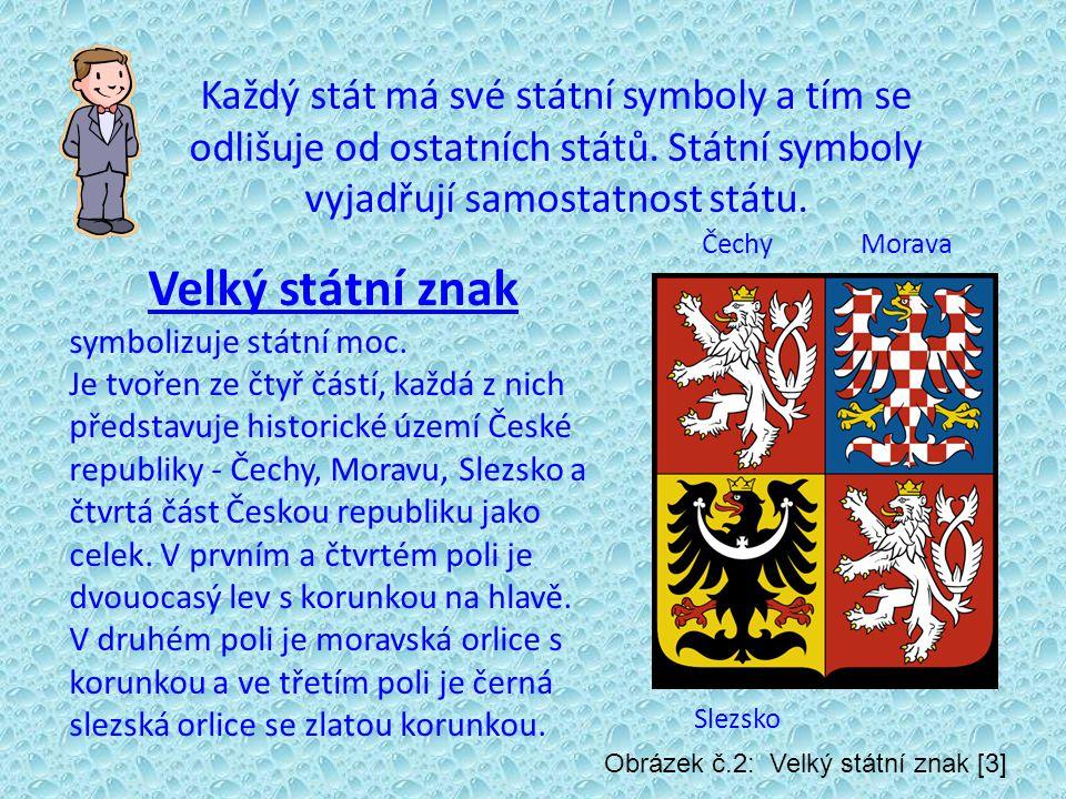 Každý stát má své státní symboly a tím se odlišuje od ostatních států.