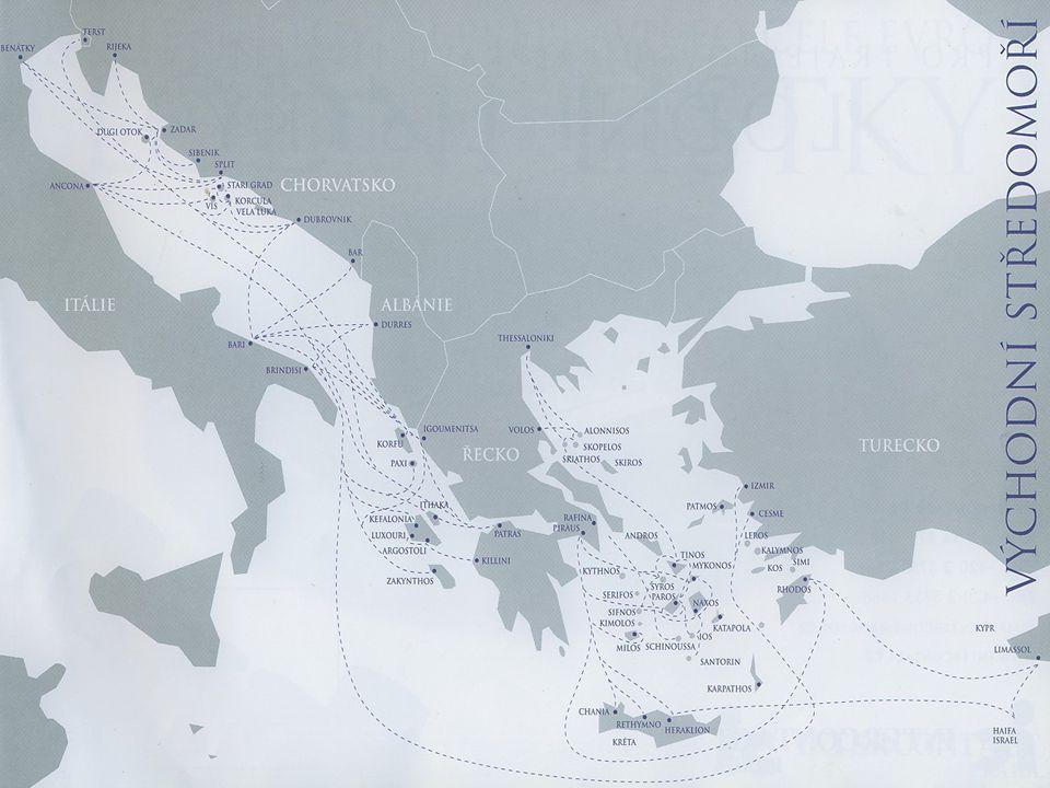 Otázky a úkoly 1.Zjistěte podmínky trajektové přepravy: - do Anglie, do Irska, na Sardinii, na Korsiku, do Švédska, na Baleáry.