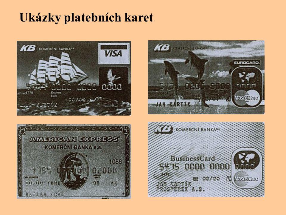 Ukázky platebních karet