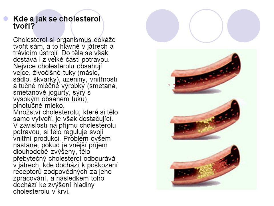  Zvýšená hladina cholesterolu je jedním z hlavních rizikových faktorů srdečně-cévních onemocnění Podle průzkumů má 70 % dospělé populace České republiky problém s cholesterolem**.