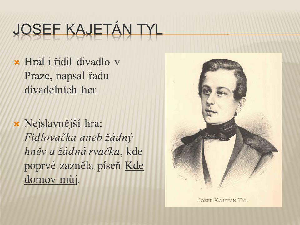  Zopakuj si slova české státní hymny Kde domov můj. Kdo napsal její text a kdo složil hudbu?
