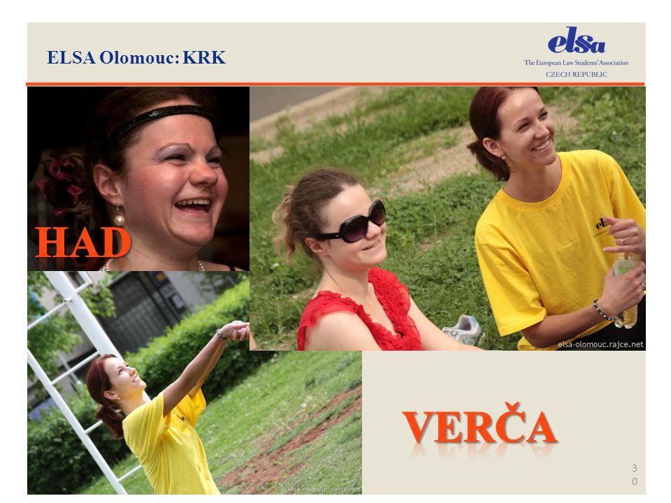 ELSA Olomouc: KRK 30
