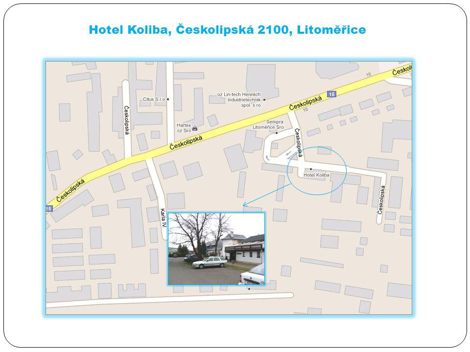 Hotel Koliba, Českolipská 2100, Litoměřice