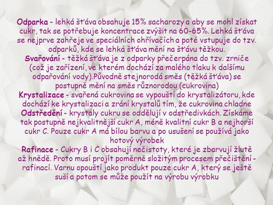 Cukrová řepa se pěstuje v oblasti střední Moravy. Dlouholetou tradici má v oblasti Hané.