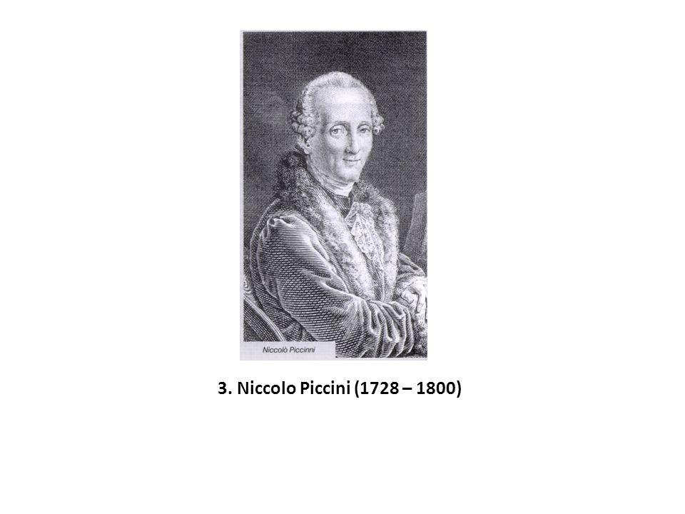 3. Niccolo Piccini (1728 – 1800)