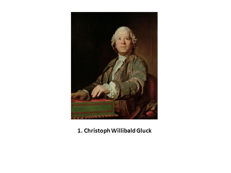 1. Christoph Willibald Gluck