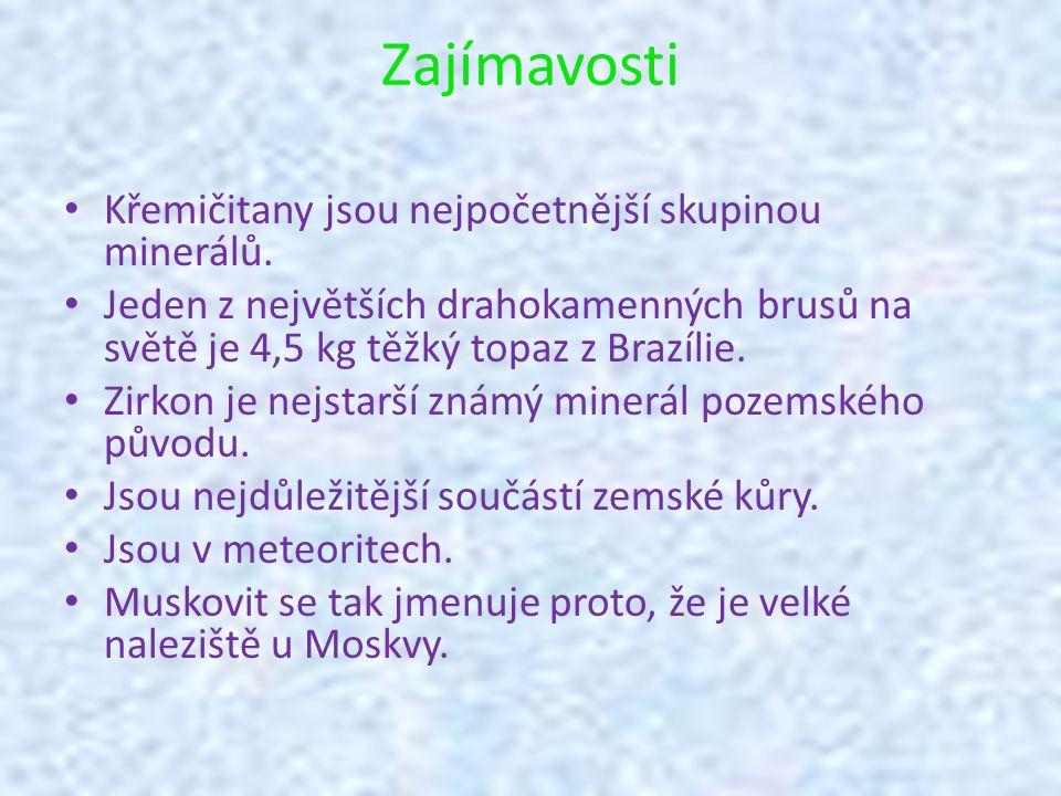 Rozpustnost (Dlouhodobě za studena) Minerálroz.v konc.
