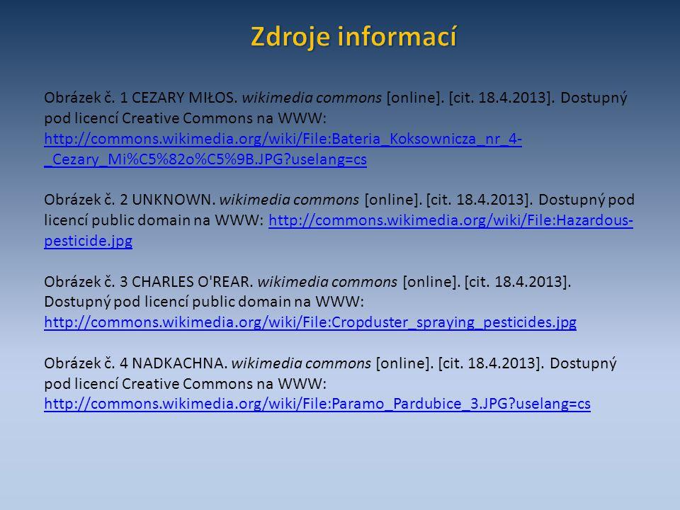 Obrázek č.1 CEZARY MIŁOS. wikimedia commons [online].