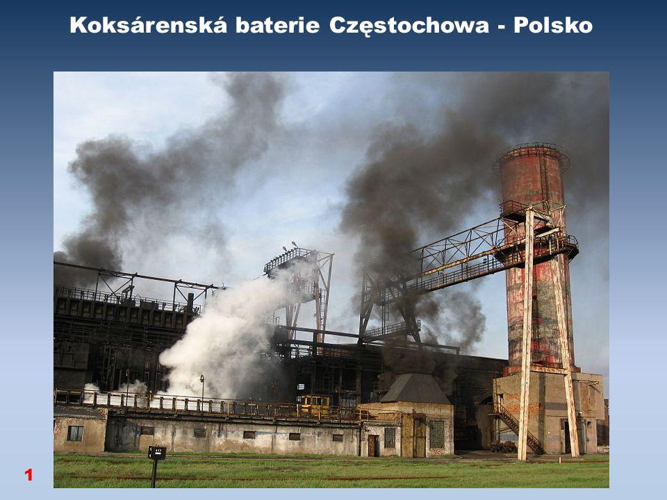 Koksárenská baterie Częstochowa - Polsko 1