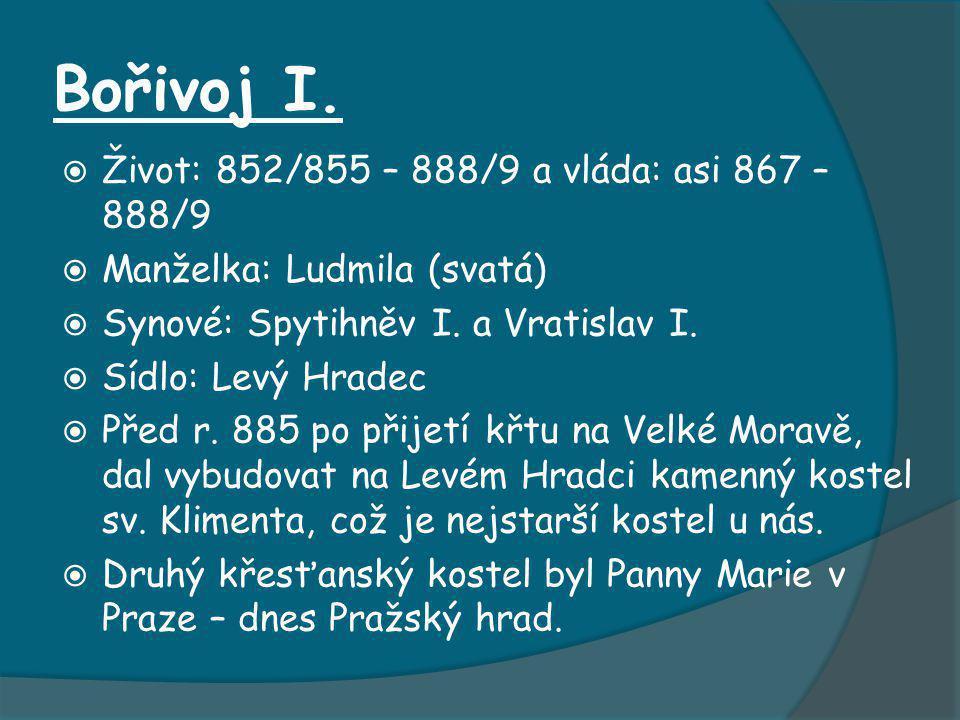 Křížovka 1)Břetislavovy dekrety byly první známý český...