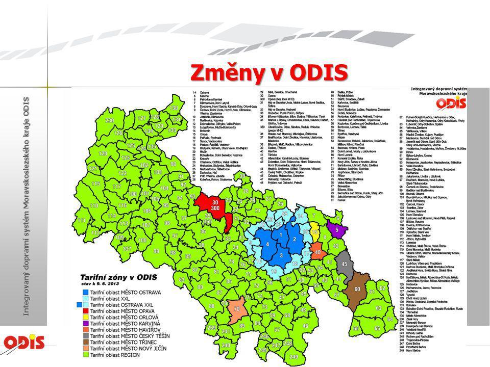 Provoz centrální správy karetního systému MSK (ODISka) Zásadním vývojem prošel proces standardizace odbavovacích zařízení dopravců v rámci ODIS a zavádění jednotné čipové karty.