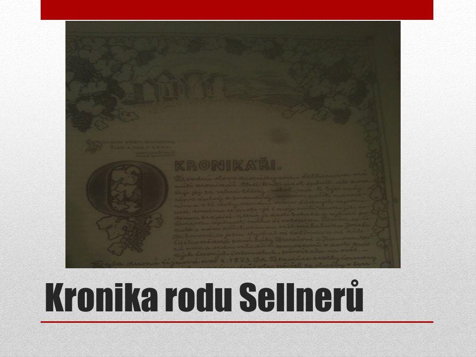 Kronika rodu Sellnerů