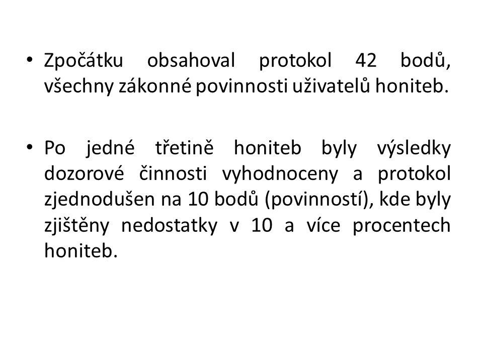 •Celkově lze učinit závěr, že uživatelé honiteb Olomouckého kraje většinou disponují zkušenými mysliveckými hospodáři, kteří ale v některých případech obtížně vstřebávají legislativní změny.
