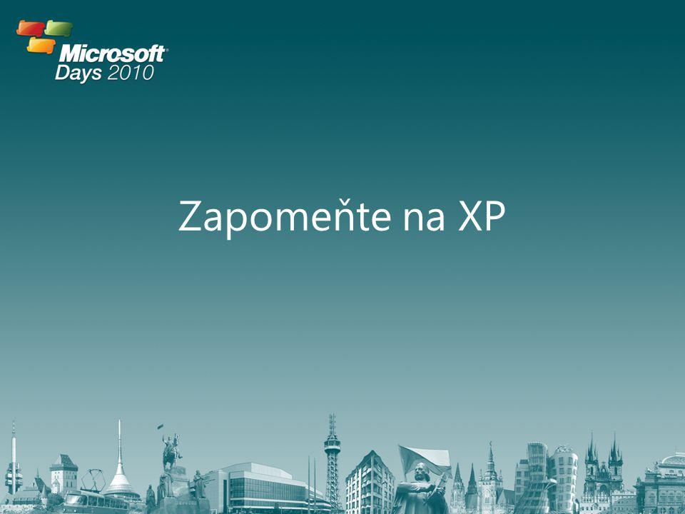Zapomeňte na XP