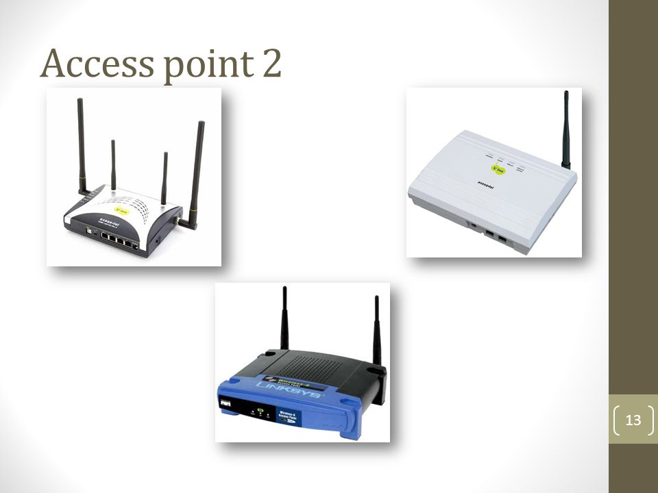 Access point 2 13