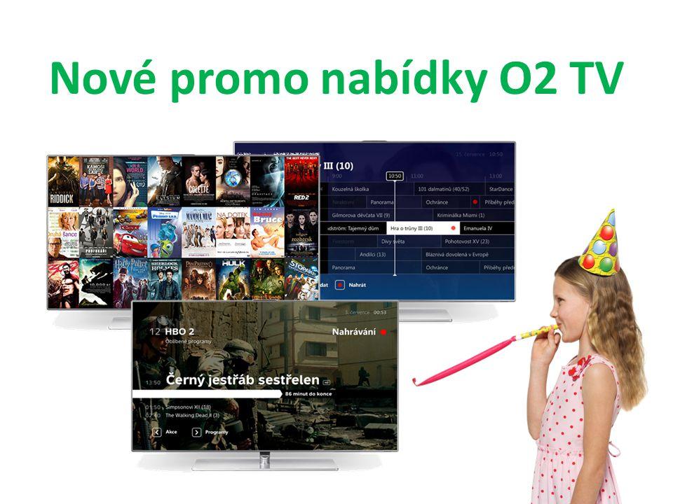 Nové promo nabídky O2 TV
