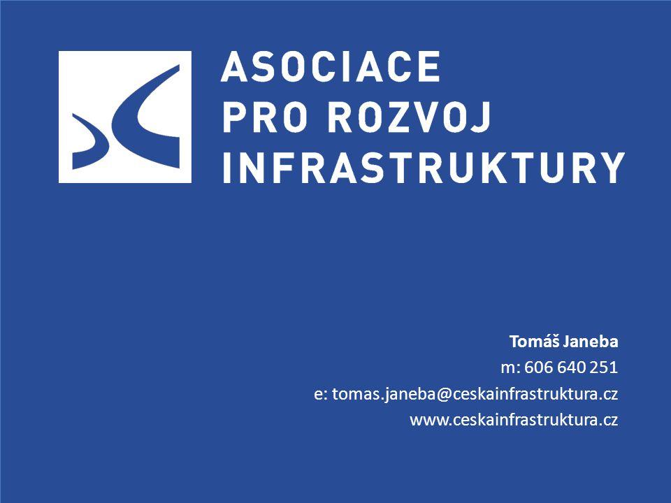 Tomáš Janeba m: 606 640 251 e: tomas.janeba@ceskainfrastruktura.cz www.ceskainfrastruktura.cz