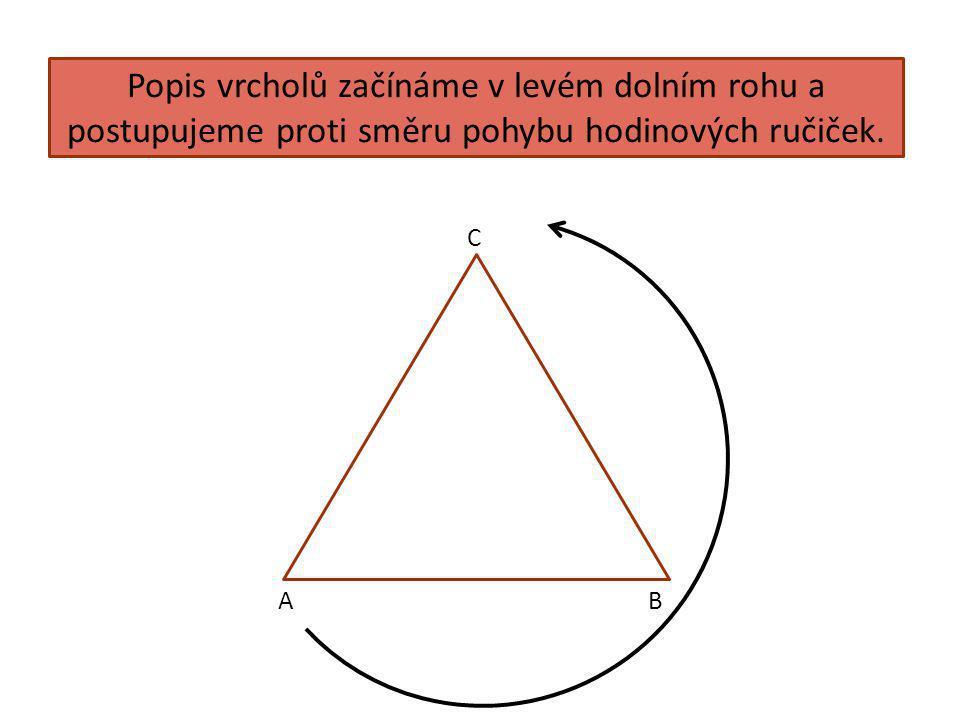 Konstrukce trojúhelníku 1.