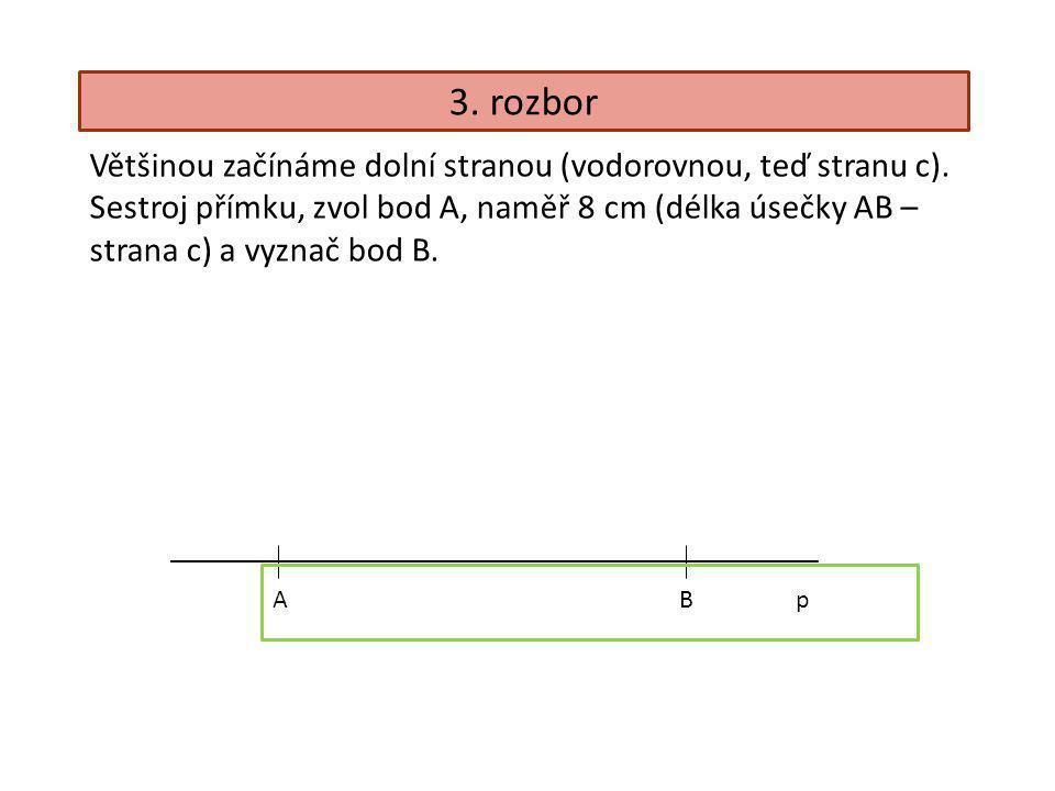 ABp Hledáš bod C. Co o něm víš? Bod C leží ve vzdálenosti 5 cm od bodu B. C1C1 C2C2 C3C3 C4C4 C5C5