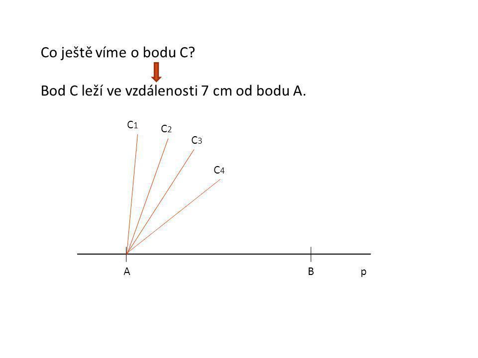 ABp Kde může ležet bod C? l