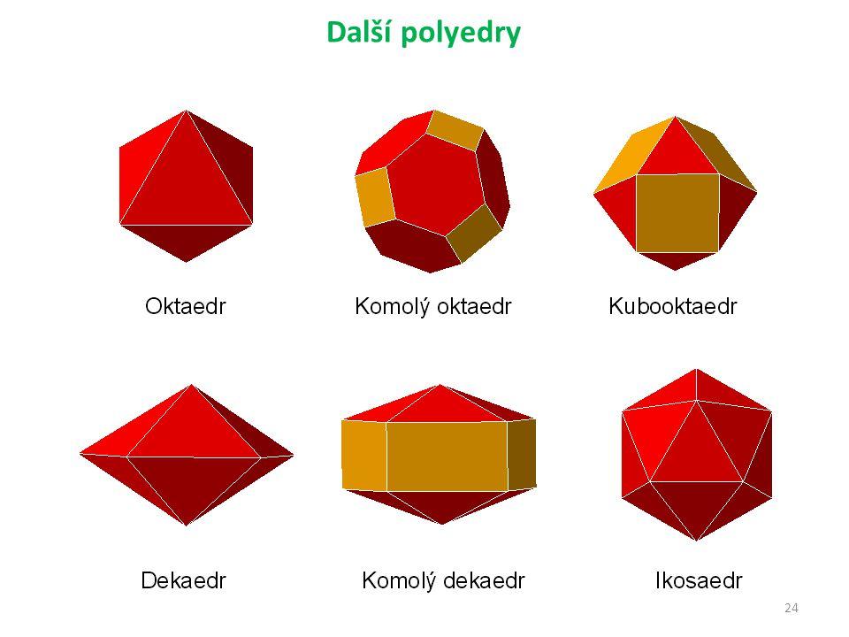 24 Další polyedry