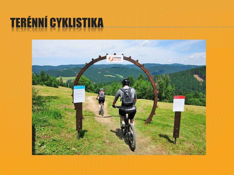  V rámci udržitelného rozvoje terénní cyklistiky je nezbytné k vybudované infrastruktuře (ta bude vznikat postupně v různých destinacích ČR), pořádat zajímavé akce a zlepšovat kvalitu doprovodných služeb.