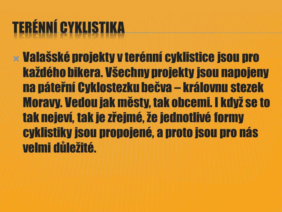  Valašské projekty v terénní cyklistice jsou pro každého bikera.